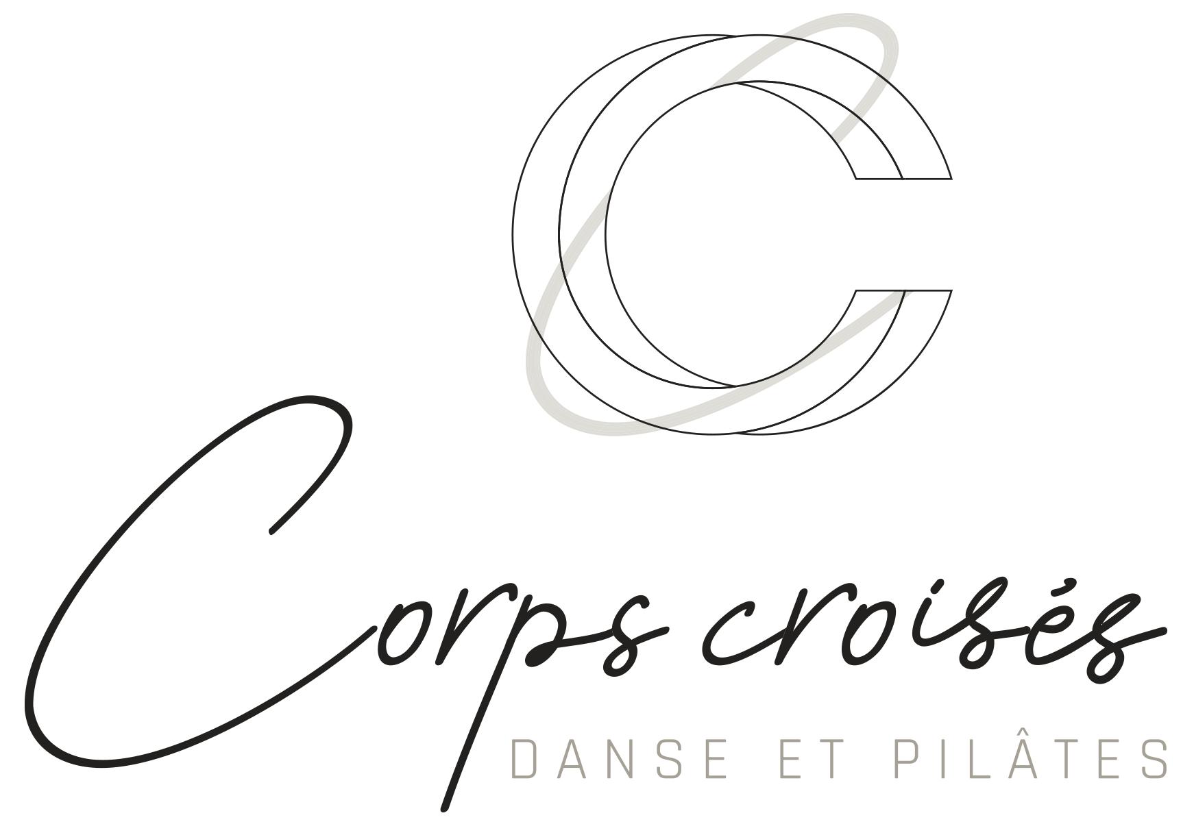 Logo Corps Croisés représentant 2 lettres C entrelacés